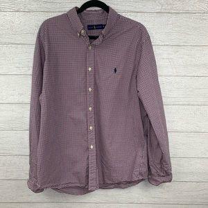 Ralph Lauren Button Down long sleeve shirt